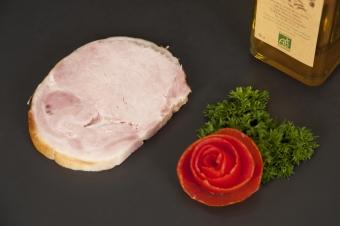 Rôti de porc cuit