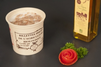 Rillettes de porc (grand pot)
